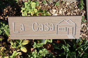 La Casa Sign