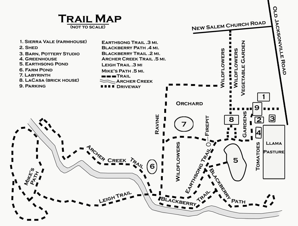 Jubilee Farm Trail Map