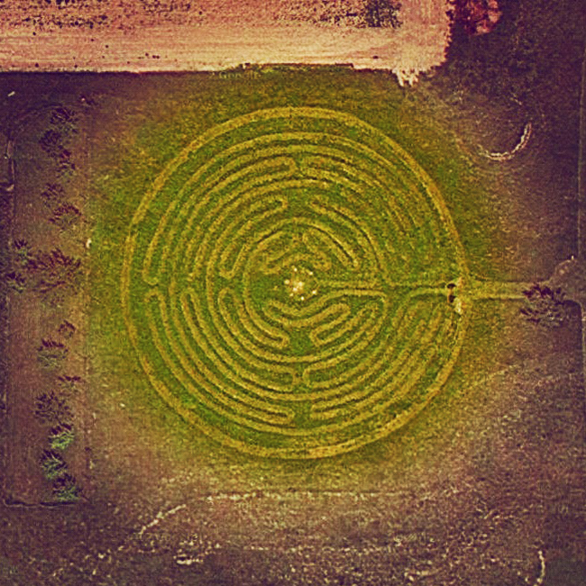Labyrinth Sky View